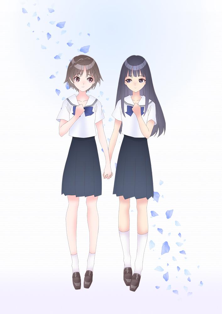 Anime Blue Reflection Ray Visual