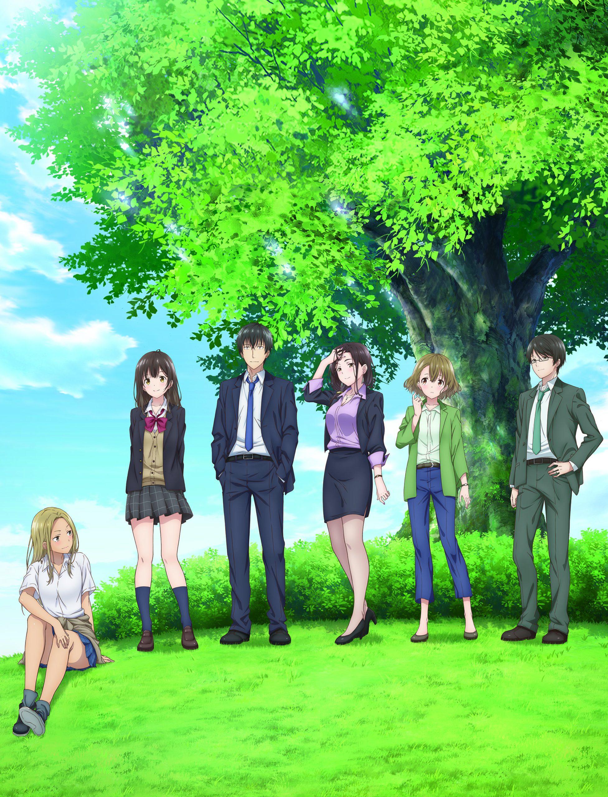 Anime Hige wo Soru. Soshite Joshikousei wo Hirou. Visual